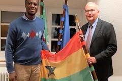 Treffen mit dem Honorarkonsul für Ghana, Herrn Wegener, in Dortmund 12/2019