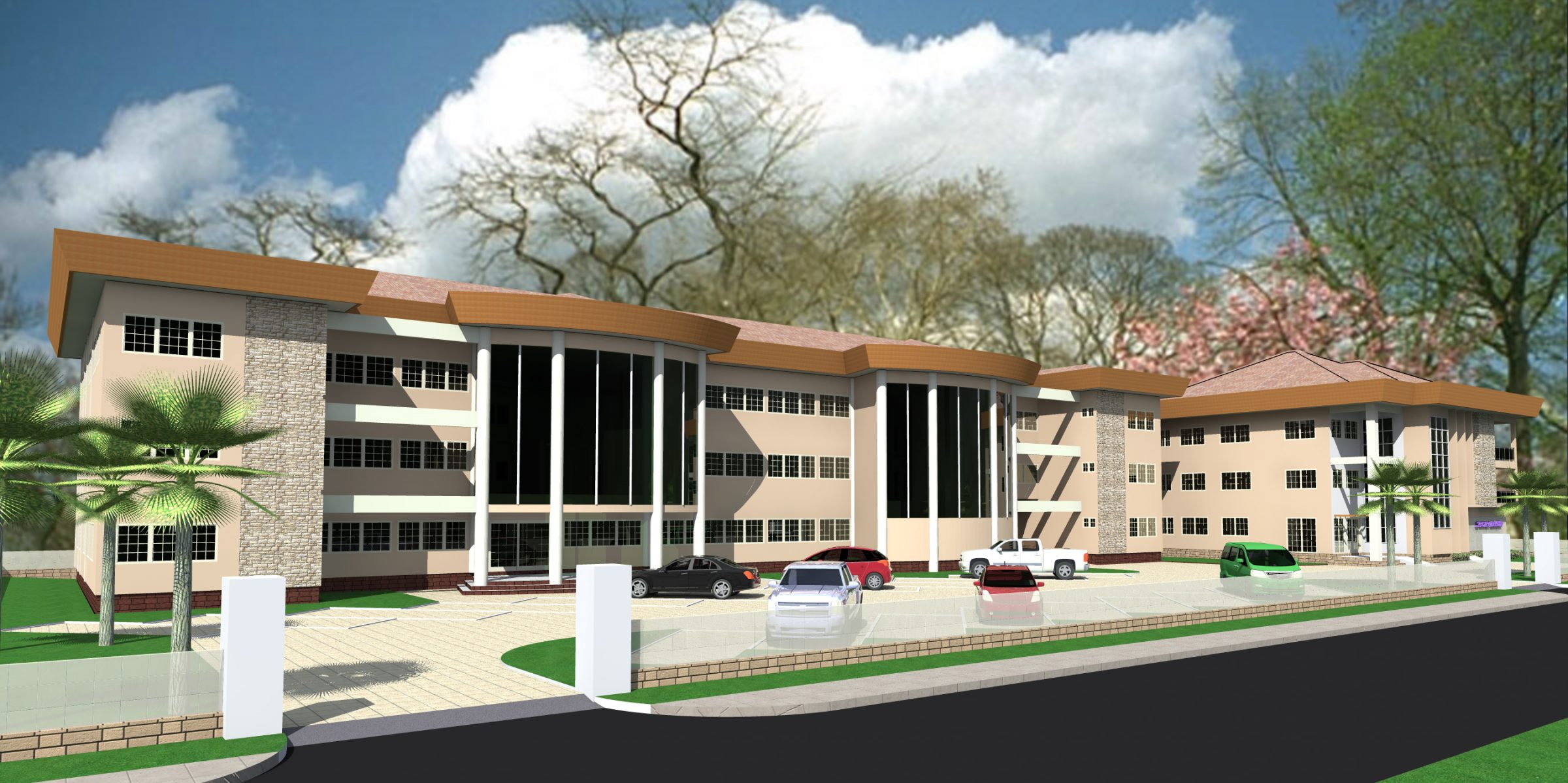 Krankenhaus Ghana