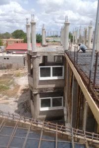 Mai 2018: Die Bauarbeiten gehen voran
