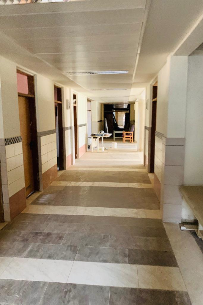 November 2019 Innenausbau Erdgeschoss