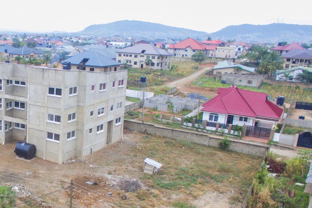 Oktober 2020: Der zweite Bauabschnitt wird vorbereitet.