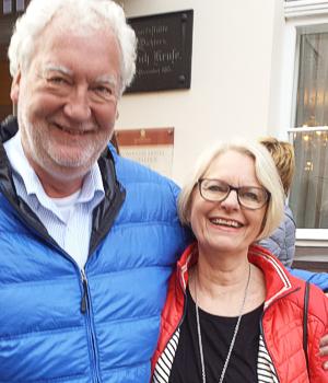 Eheleute Gabriele und Matthias Beckmann