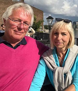 Eheleute Peggy und Hans-Georg Griewel